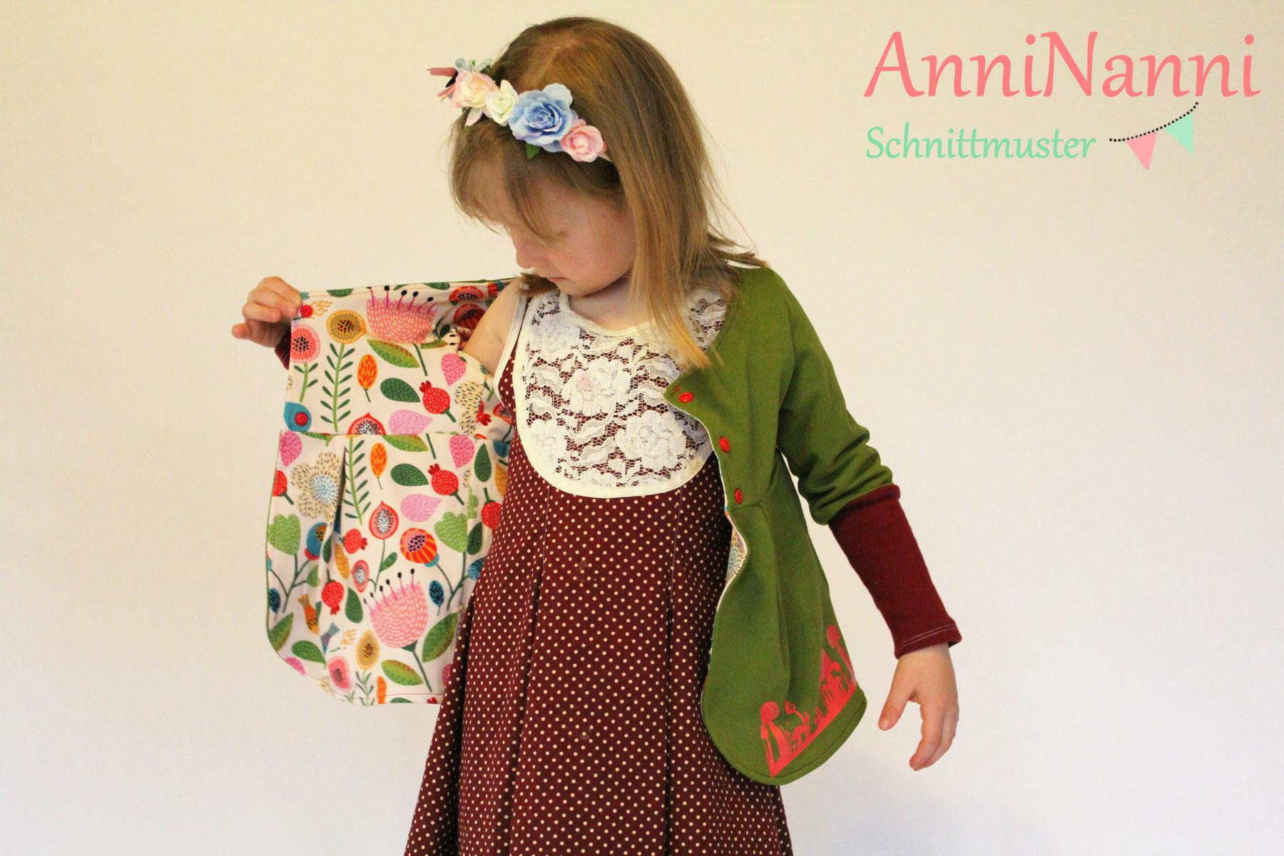 AnniNanni Mädchen Bolero (-jäckchen) eBook - AnniNanni Schnittmuster