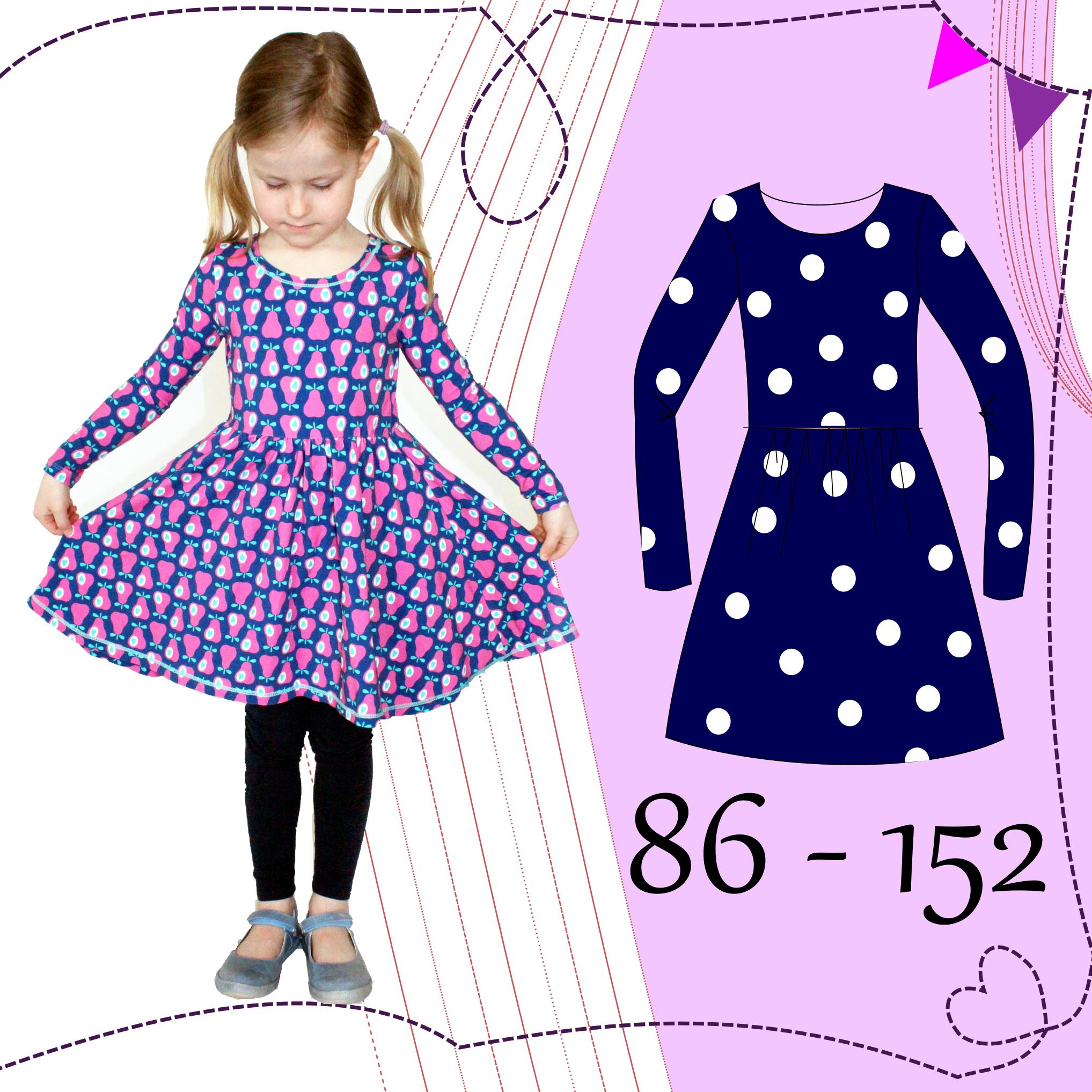 eBook AnniNanni kleine Ballerina-Kleid PDF Anleitung und
