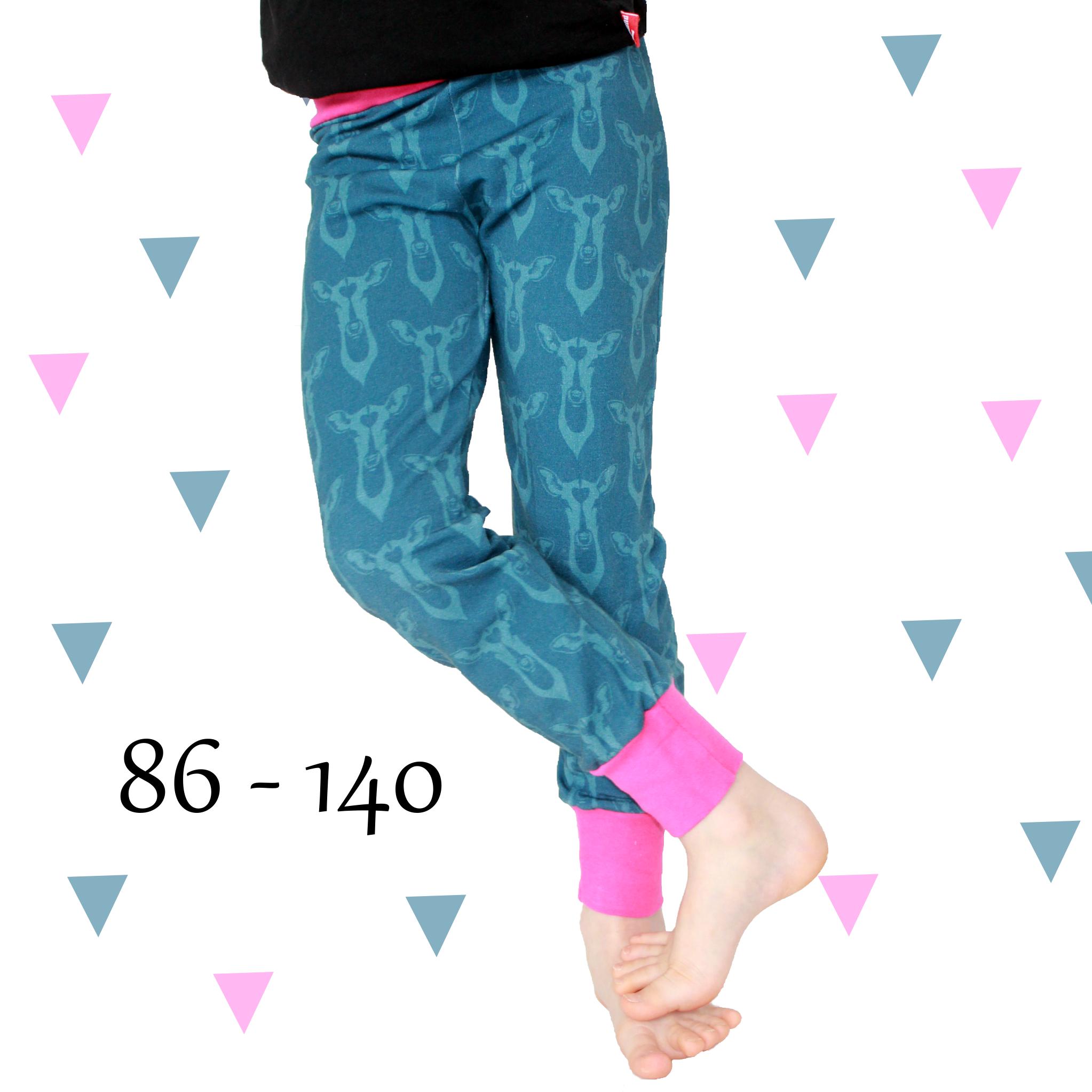 eBook Jogginghose für Mädchen - AnniNanni Schnittmuster